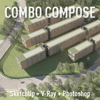 Curso de sketchup, v-ray e photoshop